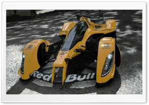 Red Bull X2010 Yellow HD Wide Wallpaper for Widescreen