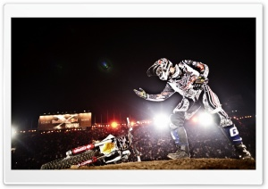 Red Bull X-Fighters 2011 HD Wide Wallpaper for Widescreen