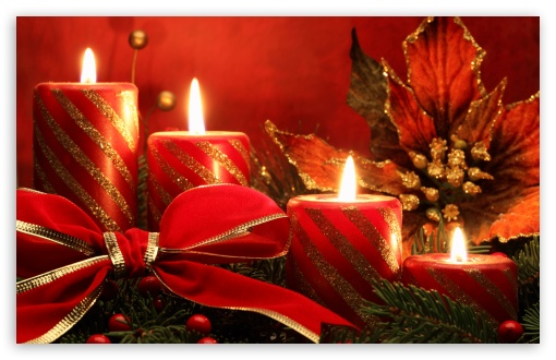 Red Candles And Ribbon UltraHD Wallpaper for Wide 16:10 5:3 Widescreen WHXGA WQXGA WUXGA WXGA WGA ; 8K UHD TV 16:9 Ultra High Definition 2160p 1440p 1080p 900p 720p ; Standard 3:2 Fullscreen DVGA HVGA HQVGA ( Apple PowerBook G4 iPhone 4 3G 3GS iPod Touch ) ; Mobile 5:3 3:2 16:9 - WGA DVGA HVGA HQVGA ( Apple PowerBook G4 iPhone 4 3G 3GS iPod Touch ) 2160p 1440p 1080p 900p 720p ;