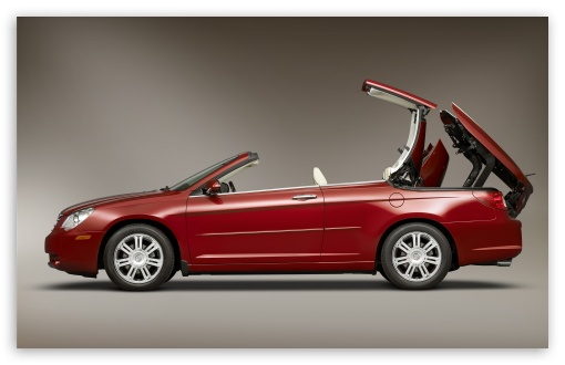 Red Chrysler Cabriolet HD wallpaper for Wide 16:10 5:3 Widescreen WHXGA WQXGA WUXGA WXGA WGA ; HD 16:9 High Definition WQHD QWXGA 1080p 900p 720p QHD nHD ; Standard 3:2 Fullscreen DVGA HVGA HQVGA devices ( Apple PowerBook G4 iPhone 4 3G 3GS iPod Touch ) ; Mobile 5:3 3:2 16:9 - WGA DVGA HVGA HQVGA devices ( Apple PowerBook G4 iPhone 4 3G 3GS iPod Touch ) WQHD QWXGA 1080p 900p 720p QHD nHD ;