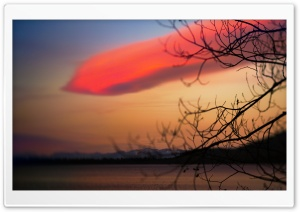 Red Cloud HD Wide Wallpaper for Widescreen