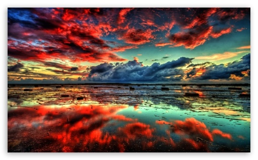 Red Clouds on Lake ❤ 4K UHD Wallpaper for Wide 5:3 Widescreen WGA ; 4K UHD 16:9 Ultra High Definition 2160p 1440p 1080p 900p 720p ; Standard 4:3 Fullscreen UXGA XGA SVGA ; iPad 1/2/Mini ; Mobile 4:3 5:3 16:9 - UXGA XGA SVGA WGA 2160p 1440p 1080p 900p 720p ;