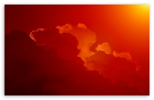 Red Clouds, Sunset HD desktop wallpaper : Fullscreen : Mobile ...
