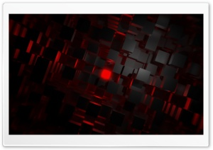 Red Cubes HD Wide Wallpaper for Widescreen