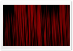Red Curtain HD Wide Wallpaper for Widescreen