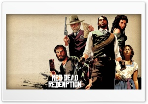 Red Dead Redemption HD Wide Wallpaper for Widescreen