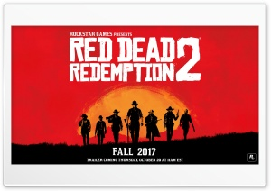 Red Dead Redemption 2 2017 HD Wide Wallpaper for Widescreen