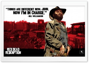 Red Dead Redemption, Bill Williamson HD Wide Wallpaper for Widescreen