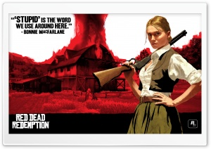 Red Dead Redemption, Bonnie MacFarlane HD Wide Wallpaper for Widescreen