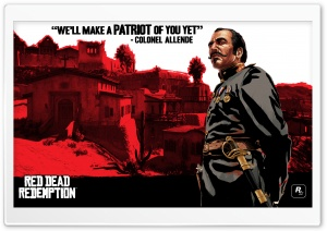 Red Dead Redemption, Colonel Allende HD Wide Wallpaper for Widescreen