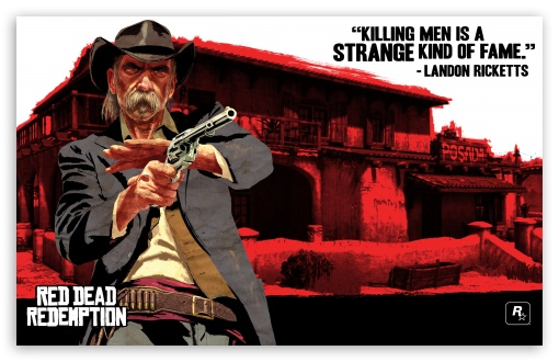 Red Dead Redemption, Landon Ricketts HD wallpaper for Wide 16:10 5:3 Widescreen WHXGA WQXGA WUXGA WXGA WGA ; HD 16:9 High Definition WQHD QWXGA 1080p 900p 720p QHD nHD ; Standard 4:3 5:4 Fullscreen UXGA XGA SVGA QSXGA SXGA ; iPad 1/2/Mini ; Mobile 4:3 5:3 3:2 16:9 5:4 - UXGA XGA SVGA WGA DVGA HVGA HQVGA devices ( Apple PowerBook G4 iPhone 4 3G 3GS iPod Touch ) WQHD QWXGA 1080p 900p 720p QHD nHD QSXGA SXGA ;