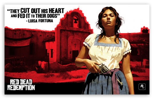 Red Dead Redemption, Luisa ❤ 4K UHD Wallpaper for Wide 16:10 5:3 Widescreen WHXGA WQXGA WUXGA WXGA WGA ; 4K UHD 16:9 Ultra High Definition 2160p 1440p 1080p 900p 720p ; Standard 4:3 5:4 Fullscreen UXGA XGA SVGA QSXGA SXGA ; iPad 1/2/Mini ; Mobile 4:3 5:3 3:2 16:9 5:4 - UXGA XGA SVGA WGA DVGA HVGA HQVGA ( Apple PowerBook G4 iPhone 4 3G 3GS iPod Touch ) 2160p 1440p 1080p 900p 720p QSXGA SXGA ;