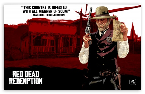 Red Dead Redemption, Marshal Leigh Johnson ❤ 4K UHD Wallpaper for Wide 16:10 5:3 Widescreen WHXGA WQXGA WUXGA WXGA WGA ; Standard 3:2 Fullscreen DVGA HVGA HQVGA ( Apple PowerBook G4 iPhone 4 3G 3GS iPod Touch ) ; Mobile 5:3 3:2 - WGA DVGA HVGA HQVGA ( Apple PowerBook G4 iPhone 4 3G 3GS iPod Touch ) ;