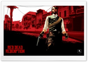 Red Dead Redemption, Marston HD Wide Wallpaper for 4K UHD Widescreen desktop & smartphone