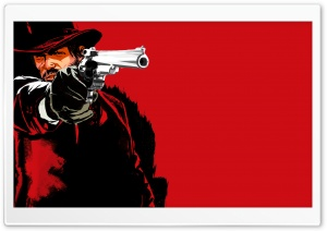 Red Dead Redemption Marston HD Wide Wallpaper for Widescreen