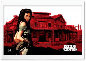 Red Dead Redemption, Scarlet Lady HD Wide Wallpaper for Widescreen