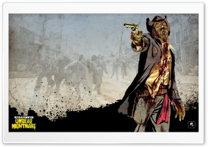 Red Dead Redemption Undead Nightmare HD Wide Wallpaper for Widescreen