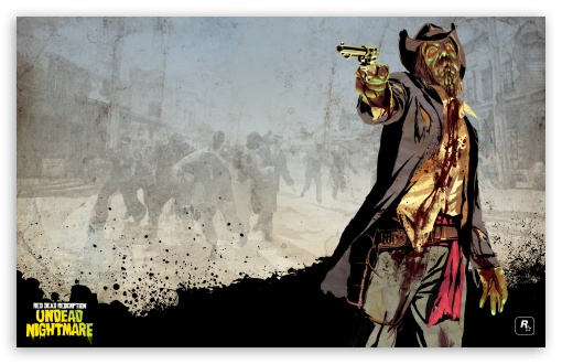 Red Dead Redemption Undead Nightmare HD wallpaper for Wide 16:10 5:3 Widescreen WHXGA WQXGA WUXGA WXGA WGA ; Mobile 5:3 - WGA ;