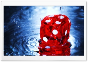 Red Dice HD Wide Wallpaper for Widescreen