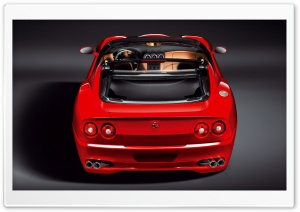 Red Ferrari Convertible 17 Ultra HD Wallpaper for 4K UHD Widescreen desktop, tablet & smartphone