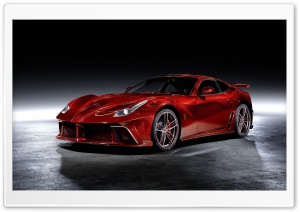 Red Ferrari F12 Berlinetta Mansory La Rivoluzione Car Ultra HD Wallpaper for 4K UHD Widescreen desktop, tablet & smartphone