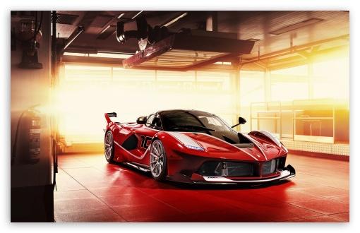 Red Ferrari Fxx K Supercar 4k Hd Desktop Wallpaper For Wide