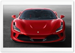 Red Ferrari sports car Ultra HD Wallpaper for 4K UHD Widescreen desktop, tablet & smartphone