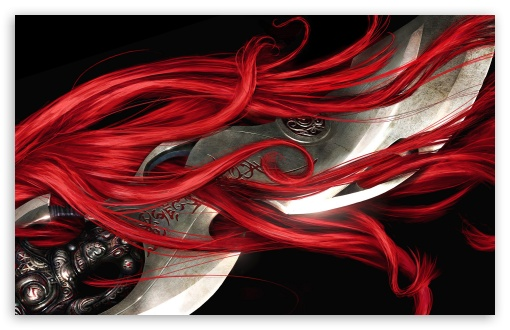 Red Hair - Heavenly Sword HD wallpaper for Wide 16:10 5:3 Widescreen WHXGA WQXGA WUXGA WXGA WGA ; HD 16:9 High Definition WQHD QWXGA 1080p 900p 720p QHD nHD ; Standard 4:3 5:4 3:2 Fullscreen UXGA XGA SVGA QSXGA SXGA DVGA HVGA HQVGA devices ( Apple PowerBook G4 iPhone 4 3G 3GS iPod Touch ) ; iPad 1/2/Mini ; Mobile 4:3 5:3 3:2 16:9 5:4 - UXGA XGA SVGA WGA DVGA HVGA HQVGA devices ( Apple PowerBook G4 iPhone 4 3G 3GS iPod Touch ) WQHD QWXGA 1080p 900p 720p QHD nHD QSXGA SXGA ;