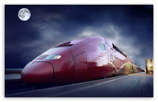 Red High Speed Train HD wallpaper for Wide 16:10 5:3 Widescreen WHXGA WQXGA WUXGA WXGA WGA ; HD 16:9 High Definition WQHD QWXGA 1080p 900p 720p QHD nHD ; Standard 4:3 3:2 Fullscreen UXGA XGA SVGA DVGA HVGA HQVGA devices ( Apple PowerBook G4 iPhone 4 3G 3GS iPod Touch ) ; iPad 1/2/Mini ; Mobile 4:3 5:3 3:2 16:9 - UXGA XGA SVGA WGA DVGA HVGA HQVGA devices ( Apple PowerBook G4 iPhone 4 3G 3GS iPod Touch ) WQHD QWXGA 1080p 900p 720p QHD nHD ;