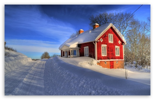 Red House, Winter ❤ 4K UHD Wallpaper for Wide 16:10 5:3 Widescreen WHXGA WQXGA WUXGA WXGA WGA ; 4K UHD 16:9 Ultra High Definition 2160p 1440p 1080p 900p 720p ; Standard 4:3 5:4 3:2 Fullscreen UXGA XGA SVGA QSXGA SXGA DVGA HVGA HQVGA ( Apple PowerBook G4 iPhone 4 3G 3GS iPod Touch ) ; Tablet 1:1 ; iPad 1/2/Mini ; Mobile 4:3 5:3 3:2 16:9 5:4 - UXGA XGA SVGA WGA DVGA HVGA HQVGA ( Apple PowerBook G4 iPhone 4 3G 3GS iPod Touch ) 2160p 1440p 1080p 900p 720p QSXGA SXGA ;