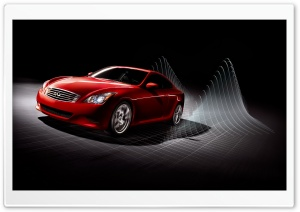 Red Infiniti HD Wide Wallpaper for Widescreen