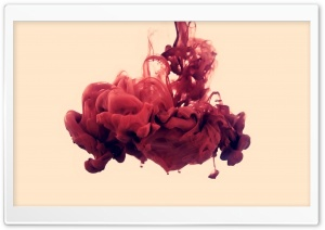 Red Ink HD Wide Wallpaper for Widescreen
