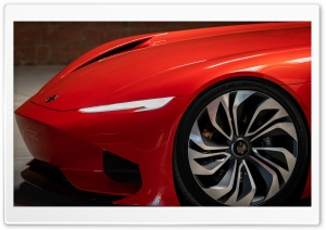 Red Karma SC1 Vision Electric Supercar Ultra HD Wallpaper for 4K UHD Widescreen desktop, tablet & smartphone