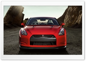 Red Nissan GT R Ultra HD Wallpaper for 4K UHD Widescreen desktop, tablet & smartphone