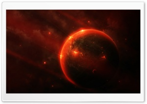 Red Planet HD Wide Wallpaper for Widescreen