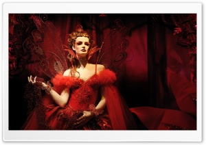 Red Queen HD Wide Wallpaper for Widescreen
