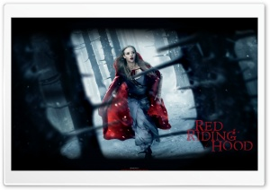 Red Riding Hood Movie HD Wide Wallpaper for 4K UHD Widescreen desktop & smartphone