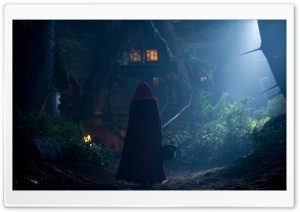 Red Riding Hood Night HD Wide Wallpaper for Widescreen