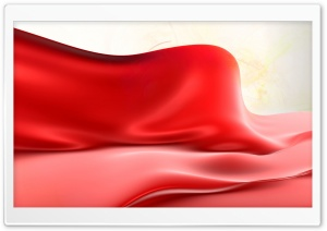 Red Silk HD Wide Wallpaper for Widescreen