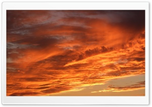 Red Sky HD Wide Wallpaper for Widescreen
