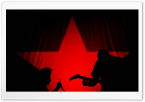 Red Star HD Wide Wallpaper for Widescreen