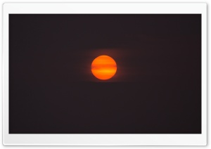 Red Sun Rising HD Wide Wallpaper for Widescreen