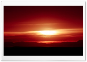 Red Sunset Ultra HD Wallpaper for 4K UHD Widescreen desktop, tablet & smartphone