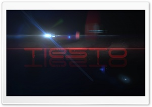 Red Tiesto HD Wide Wallpaper for Widescreen