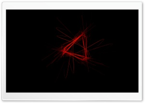 Red Triangle Ultra HD Wallpaper for 4K UHD Widescreen desktop, tablet & smartphone