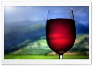 Red Wine Glass HD Wide Wallpaper for 4K UHD Widescreen desktop & smartphone