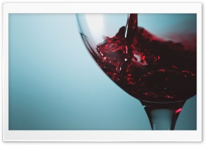 Red Wine Glass HD Wide Wallpaper for Widescreen