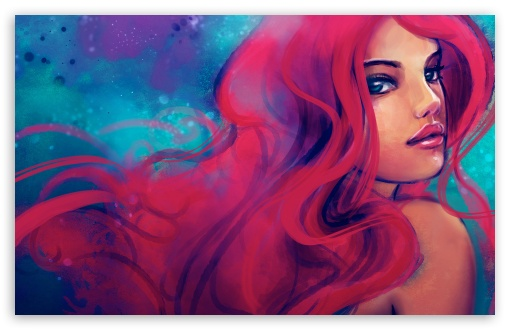 Redhead Girl Painting HD wallpaper for Wide 16:10 5:3 Widescreen WHXGA WQXGA WUXGA WXGA WGA ; HD 16:9 High Definition WQHD QWXGA 1080p 900p 720p QHD nHD ; Standard 4:3 5:4 3:2 Fullscreen UXGA XGA SVGA QSXGA SXGA DVGA HVGA HQVGA devices ( Apple PowerBook G4 iPhone 4 3G 3GS iPod Touch ) ; Tablet 1:1 ; iPad 1/2/Mini ; Mobile 4:3 5:3 3:2 16:9 5:4 - UXGA XGA SVGA WGA DVGA HVGA HQVGA devices ( Apple PowerBook G4 iPhone 4 3G 3GS iPod Touch ) WQHD QWXGA 1080p 900p 720p QHD nHD QSXGA SXGA ;