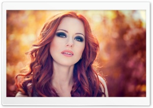 Redhead Model HD Wide Wallpaper for Widescreen