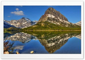 Reflection Lake HD Wide Wallpaper for Widescreen